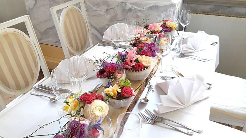 Dekoration Hochzeitsplanung
