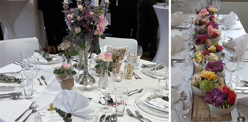 Hochzeitsplanung Dresden Dekoration