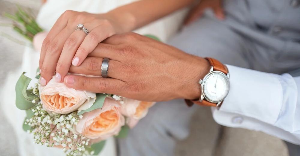 Trauringe Hochzeitspaar
